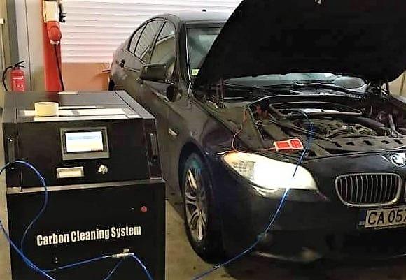 Водородно почистване на двигатели