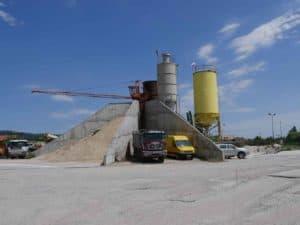 бетонов център Батпел в Нови Искър