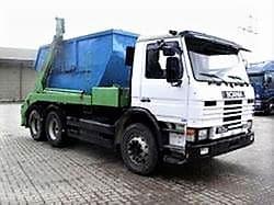 Извозване на отпадъци с контейнеровоз