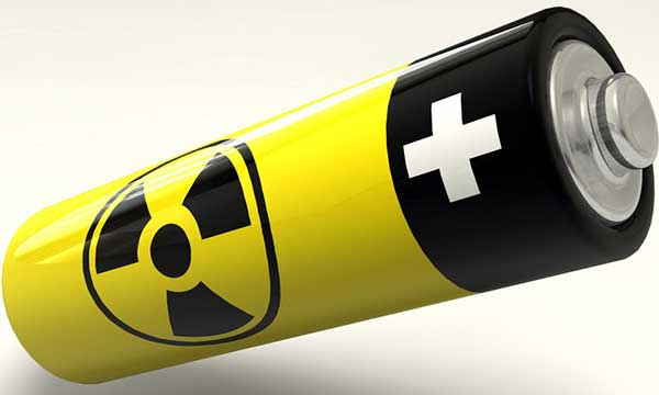 Ядрена батерия колкото монета