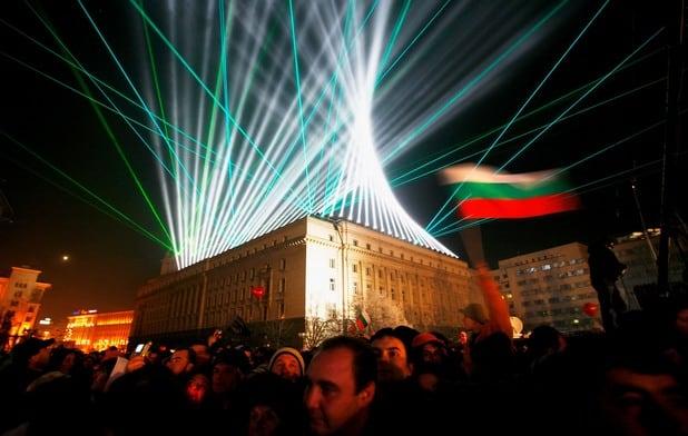 Нова година в София
